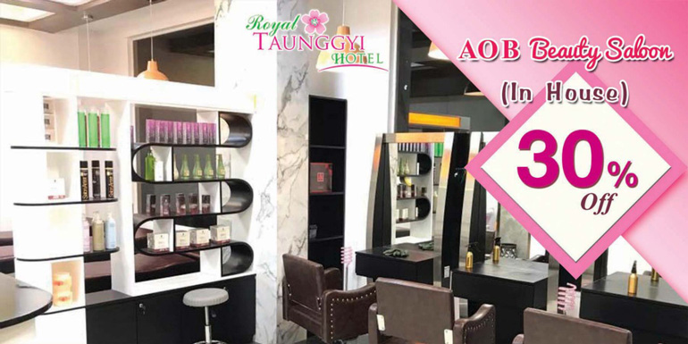 AOB Beauty Saloon (In House) 15% Off