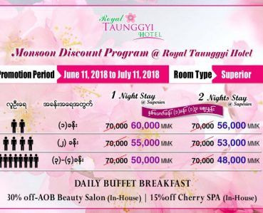 Monsoon Discount Program